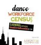 Dance Workforce Census: Earnings Among Individuals, Ages 21-35