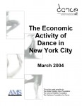 The Economic Activity of Dance in New York City