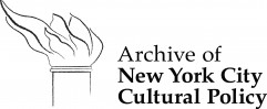 Archive of New York City Cultural Policy logo