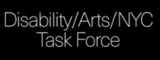 Disability/Arts/NYC Task Force logo