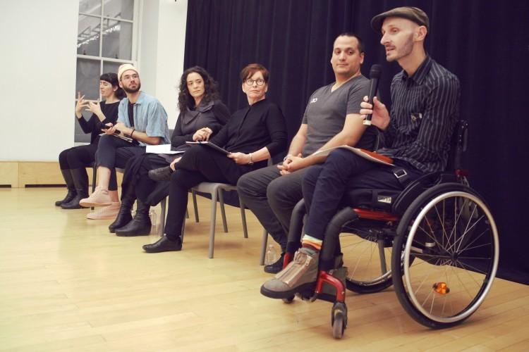 Disability. Dance. Artistry. Conversation Series: Conversation with AXIS Dance Company (Photo Credit: Ta-Lei Chou)