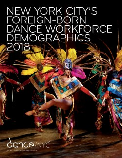 Report cover for New York City's Foreign-Born Dance Workforce Demographics