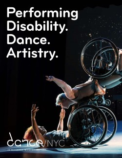 Report cover for Performing Disability. Dance. Artistry.