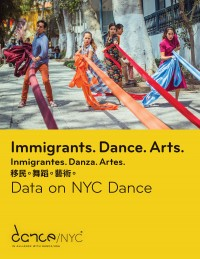 Cover of Immigrants. Dance. Arts.