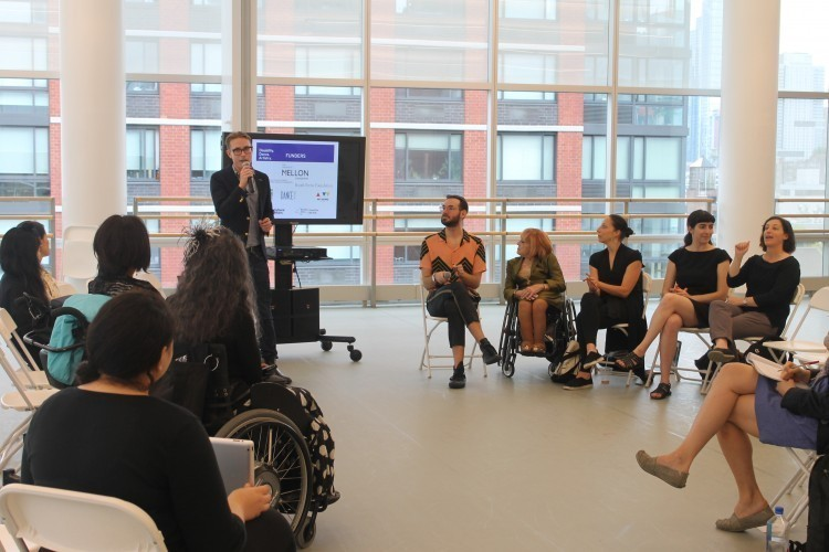 Disability. Dance. Artistry. Conversation Series: Conversation with Dancing Wheels Company & School (Photo credit: Dance/NYC)