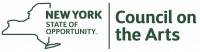 New York State Council on the Arts logo