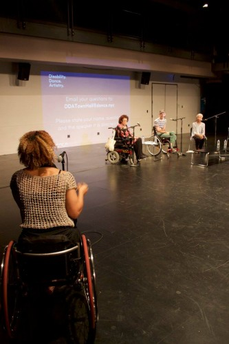 Town Hall: Dance Makers on Disability (Photo credit: Dance/NYC).