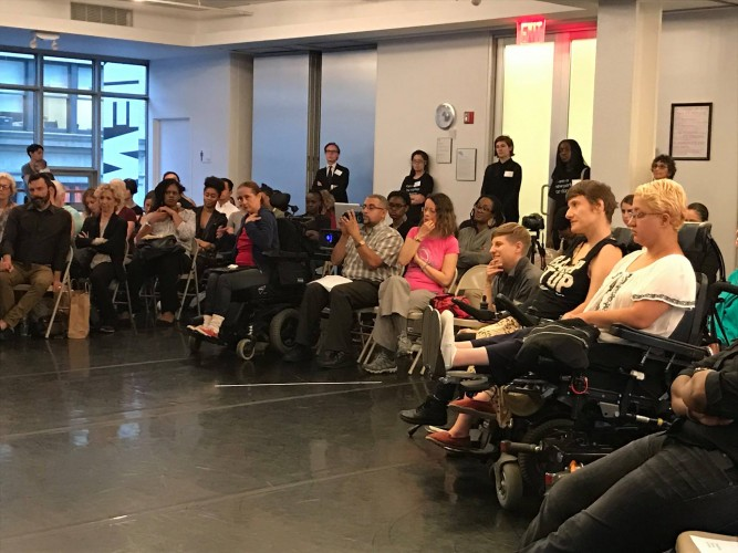 Town Hall: Disability, Race, and the Practice of Dance (Photo credit: Dance/NYC).