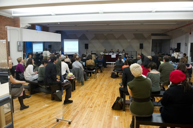 Dance/NYC's 2012 Symposium (Photo credit: Christopher Duggan).