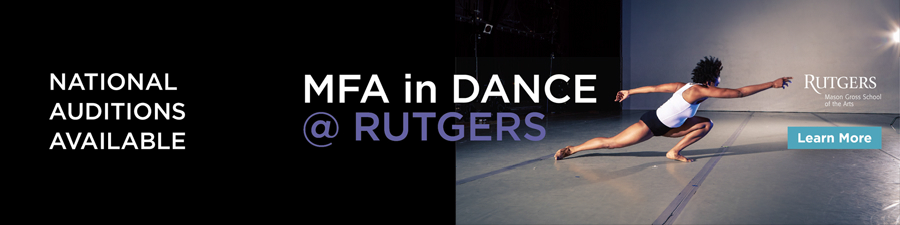MFA in Dance at Rutgers University