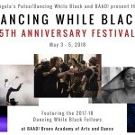 The fist 4 events are part od Dancing While Black's 5th anniversary.