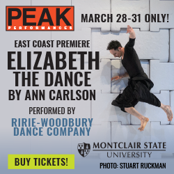 Elizabeth, the Dance by Ann Carlson performed by Ririe Woodbury Company. March 28-31, 2019 only. Tickets $30