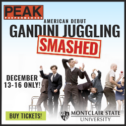 Gandini Juggling Smashed at ACP Peak Performances December 13-16. 2018