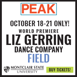 Advertisement for Liz Gerring Dance Company