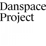 "the words ""Danspace Project"" in black ink inside of a white box"
