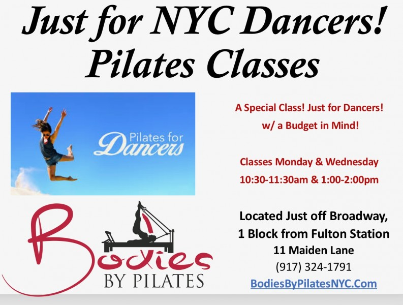 Pilates classes for dancers