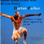 Image of Darian Parker with class details