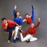 Members of reaction dance company