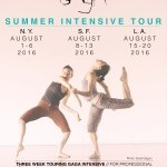 Touring Summer Intensive 2016 // NEW YORK
