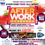 afterwork thursdays sept 5th