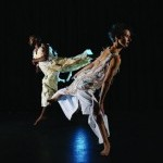 Three dancers express literal and figurative acts of repetition through an immersive sequence of ritualized patterns related to