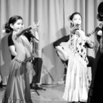 Children performing Tangos at 2014 Recital at Flamenco Latino