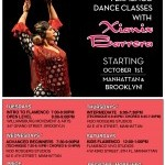 Flamenco Fall Class Schedule