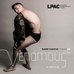 Male dancer contracting - Venomous at La Guardia Performing Arts Center Oct 20-22