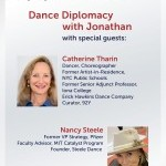 Battery Dance TV Dance Diplomacy with Jonathan with Nancy Steele and Catherine Tharin