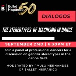 Ballet Hispánico presents Diálogos: The Stereotypes of Machismo in Dance