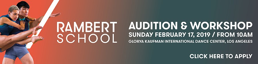 Rambert School - Audition & Workshop in LA - February 17, 2019