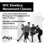 Kinetica Movement Workshop classes