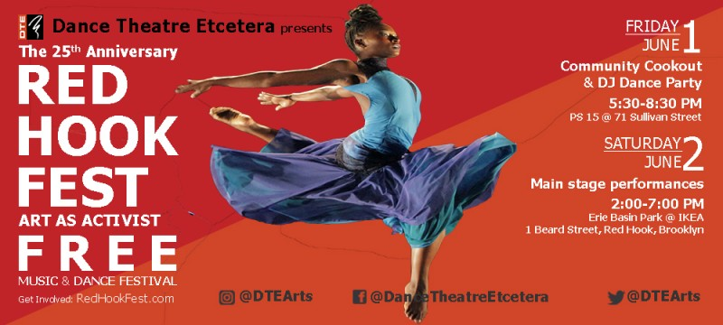 25th Annual Red Hook Fest Dancenyc