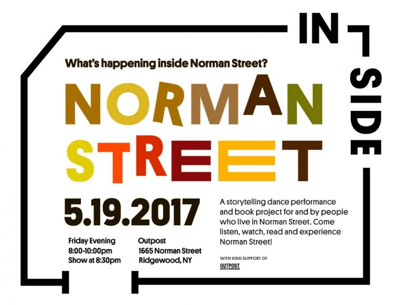 Inside Norman Street -Storytelling & Dance Project