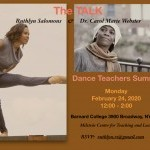 The TALK's first Dance Teachers Summit.Please pass the word and remember to RSVP (details below).  Date: Monday, February 24, 20