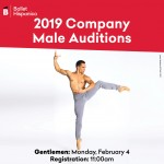 Ballet Hispánico 2019 Male Company Auditions