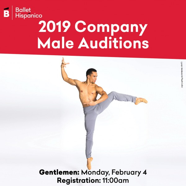 Ballet Hispánico Company Auditions 2019