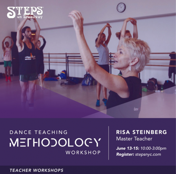 Teaching Methodology Workshop with Master Teacher Risa Steinberg