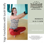 Yoga Foundations with Sarah Wolfy