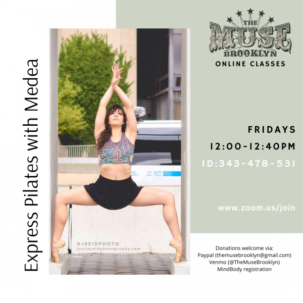 Express Pilates & Tumbling with Medea