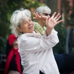 Class participant dancing with Free Movement Class for Adults and Seniors
