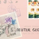 Flyer image of Neutral Ground featuring illustrated photos.