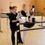 Bolshoi Ballet Academy pedagogue instructing a student