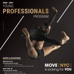 MOVE(NYC) 2020-2021 YOUNG PROFESSIONALS PROGRAM AUDITIONS!