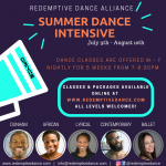 5 Genre/5 Instructor/5 Week Summer Dance Intensive
