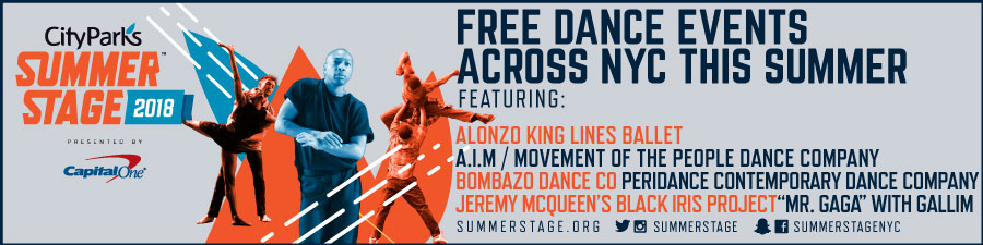 SummerStage Free Dance Events Across NYC This Summer