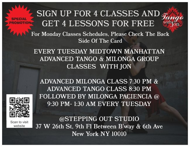 Tango & Milonga Classes
