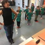 Teaching Artist with Students