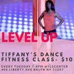 #Level Up with Tiffany!!! Dance Sweat & have fun!!!