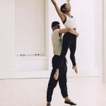 "Dancers Naya Lovell and Daniel Cooke in Leyland Simmons ""Traffic"""